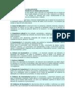 GLOSARIO DE TÉRMINOS EN LA MODULARIZACIÓN