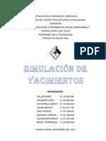 SIMULACIÓN DE YACIMIENTOS..