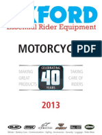 oxford Motorcycle catalogue 2013