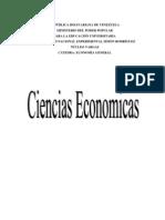 CIENCIAS ECONOMICAS