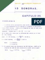 Cap_19_ondas Sonoras-ejercicios Resueltos-resnick Halliday