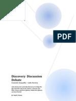 Discover Discussion Debate - Economic Inequality - Latin America