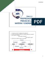 Tema 2.3 Propiedades f Sicas de La Materia y Energ A