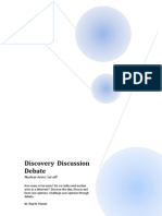 Discover Discussion Debate - Nuclear Weapons Cut-Off