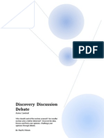 Discover Discussion Debate - Nuclear Weapons Arms Control