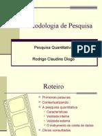 Metodologia de Pesquisa Quantitativa