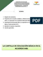 Acuerdo 648 - Cartilla 2011 - Copia