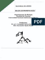 Manual Curso de Geomorfología.