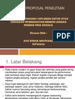 Model Proposal Penelitian