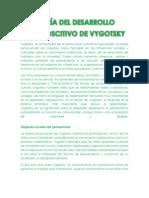 TEORÍA DEL DESARROLLO VYGOTSKY