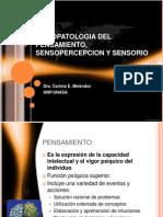 Pensamiento Sensopercepcion Sensorio