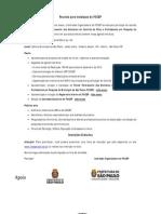 FOCEP_ Programa para o dia 18 de maio de 2013 _Edital de Convocação