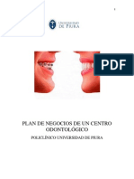 Plan de Negocios Consultorio Dental