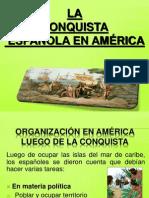 CONQUISTA DE AMÉRICA