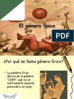 El género lírico 200999