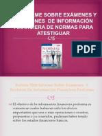 Informe y Examen