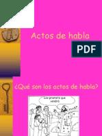 Actos de Habla 2009