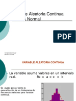 Variable Aleatoria Continua