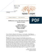 Reflexiones acerca del rol de los intelectuales en America Latina - Archivos Analíticos de Políticas Educativas 25