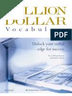 Million Dollar Vocabulary Manual