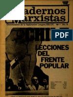 Cuadernos Marxistas - Frente Popular Chile