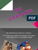 Presentacion El Amaranto