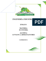 ENSAYOS ECONOMIA