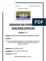 Memoire de Synthese Bibliographique 2