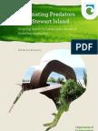 Eliminating Predators From Stewart Island New Zealand