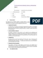 Modelo de Informe Del Test de Badimale. Jip-dyanis