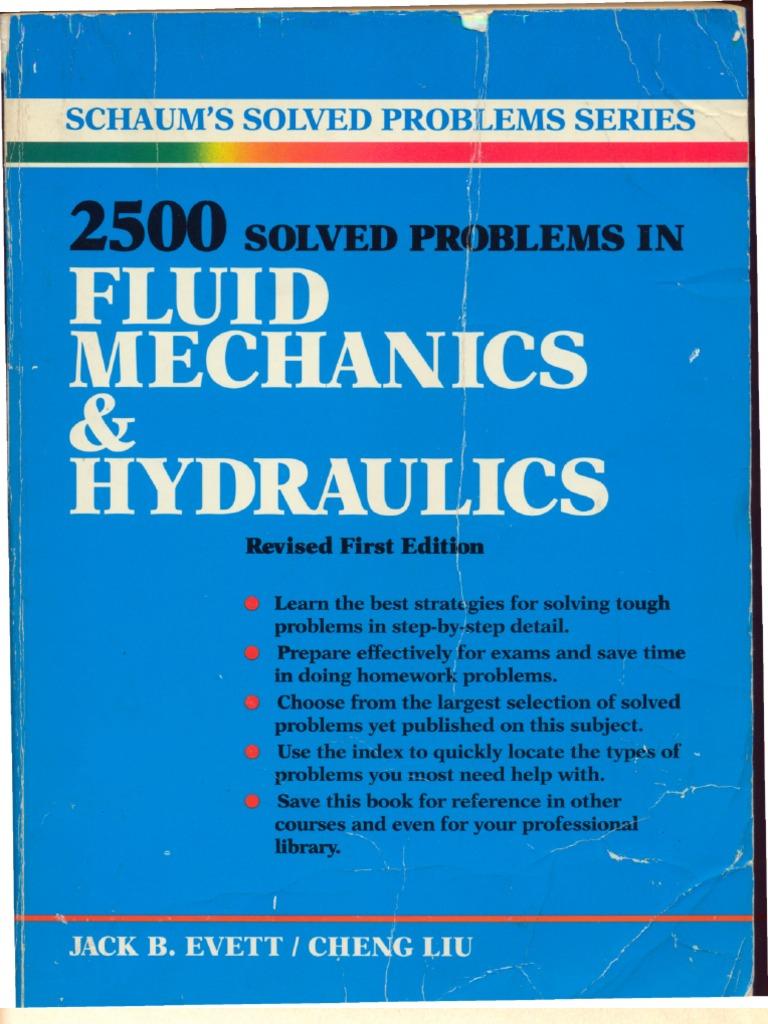 2 500 solved problems in fluid mechanics and hydraulics pdf rh scribd com Hydraulic System Hydraulic System