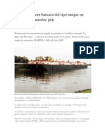 Botan la tercera barcaza del tipo tanque en astilleros de nuestro país