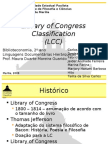 Library of Congress Classification (Classificação da Biblioteca do Congresso)