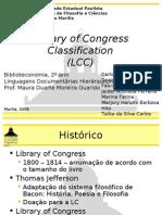 Library of Congress Classification (Classificação da Biblioteca do Congresso)
