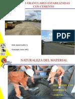 7 Bases Granulares Estabilizadas Con Cemento - Hugo Eguez
