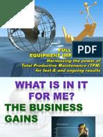 TPM Equipment Improvement