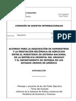 ¿El gobierno uruguayo  propicia relaciones carnales entre el ejército de estados unidos y el uruguayo?