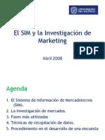 15743581 El SIM y La Investigacion de Marketing