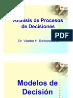 Lectura 4 - Análisis de Procesos de Decisiones