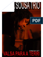 Paula Sousa Trio Presskit
