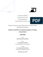 Bertoni, Reto. (2010) Energia y Desarrollo
