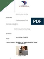 Actividad 3.1 Blanca Ojeda Tecnologia Educativa