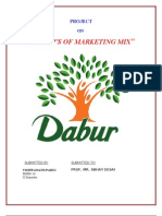 Marketing Strategies of Dabur Foods Ltd
