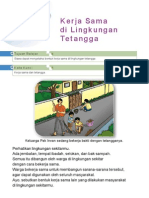 6. Kerja Sama Di Lingkungan Tetangga