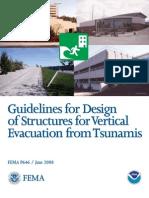 FEMA Estructuras Tsunami