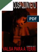 Paula Sousa Quinteto Disco Presskit