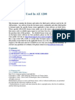 AE1200 License Notices