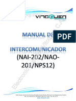 Manual de Intercomunicador