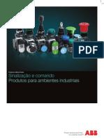 Catalogo Sinalizacao e Comando_ABB_industrial