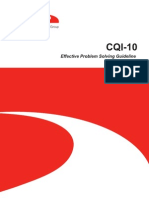 CQI 10 Effective Problem Solving Guideline